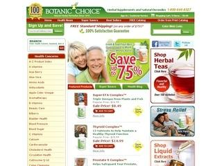 25% Off for Canadian Customers from Botanic Choice