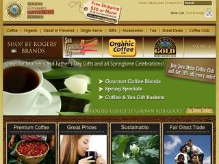 15% Off On All Gift Items from Rogers Gourmet Coffee